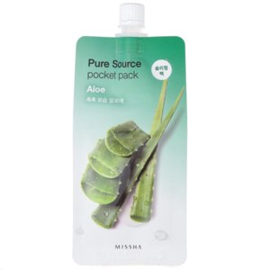 Маска для лица Missha Pure Source Pocket Pack Aloe фото