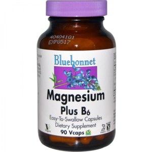 БАД Bluebonnet Nutrition Magnesium Plus B6 (Магний плюс B6) фото