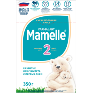 Детская молочная смесь  Mamelle 2 для детей с 6 до 12 месяцев  фото