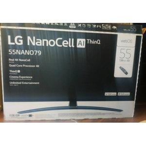 4K Телевизор LG NanoCell AI ThinQ  55nano796NF webOS фото