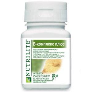 БАД Amway NUTRILITE™ B-комплекс плюс фото