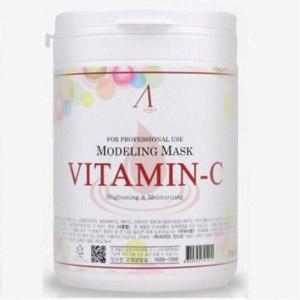 Маска альгинатная Anskin Modeling Mask Vitamin-C Brightening & Moisturizing фото
