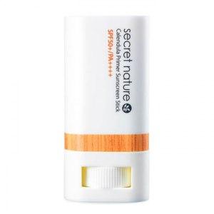 Солнцезащитный стик Secret Nature Calendula Primer Sunscreen Stick SPF 50+ фото