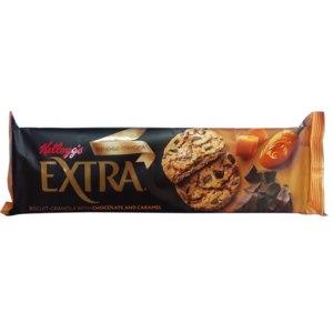 Печенье сдобное Kellogg's Extra Гранола с шоколадом и карамелью  фото