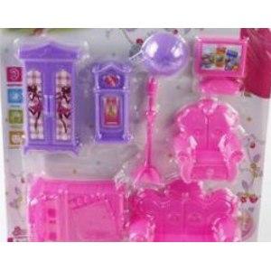 "Qunteng Toys & Hardware Co.,LTD Игрушка ""Игровой набор мебели"", 7 предметов / арт. KSL390053 фото"