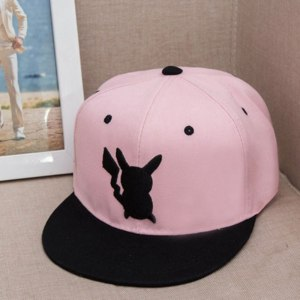 Кепка Ebay Anime-For-Pokemon-Go-Pikachu-Unisex-Men-Women-Adjustable-Hip-Hop-Baseball-Cap фото