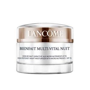 Крем для лица ночной Lancome Bienfait Multi-Vital Nuit фото