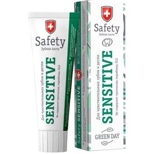 Зубная паста Green Day Safety Sensitive для чувствительных зубов фото