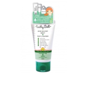 Пенка для умывания Cathy Doll Acne Solution Serum + Foam Cleanser от акне с маслом чайного дерева  фото