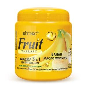 Маска для волос Белита-Витэкс Fruit THERAPY Банан, масло мурумуру  фото