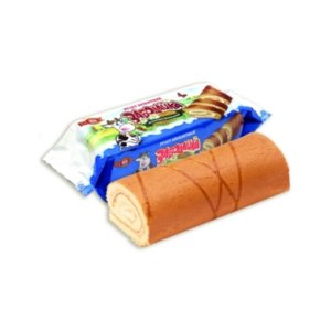 Бисквитный рулет Бисквит-Шоколад Забодайка сливочно-ванильный фото