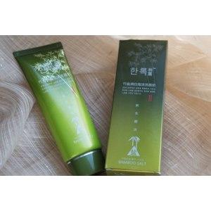 Пенка для умывания Bamboo salt Whitening Foam Cleanser фото