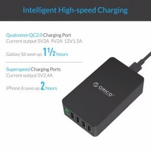 Зарядное устройство Orico QSE-5U фото