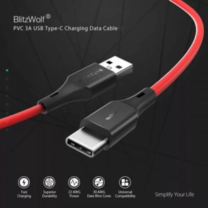 Кабель USB для мобильного телефона BlitzWolf TC13 фото