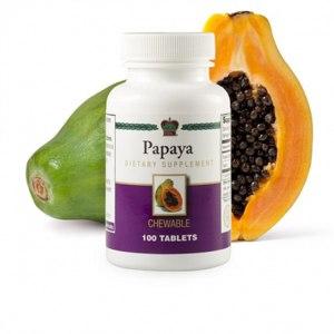 БАД Coral Club International Таблетки Papaya Папайя 100 тб фото