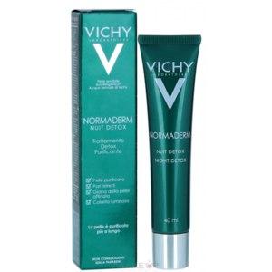 Крем для лица ночной Vichy Normaderm Night Detox  фото