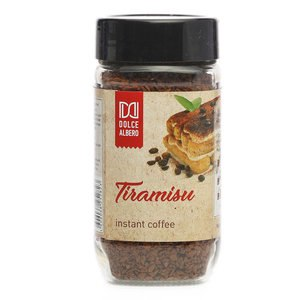 """Растворимый кофе """"Dolce Albero"""" натуральный сублимированный с ароматом Tiramisu фото"""