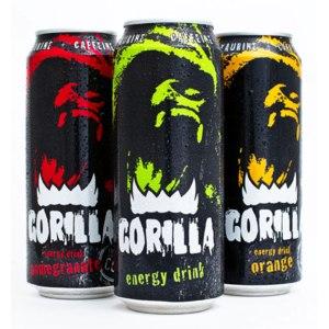 Энергетический напиток GORILLA energy drink фото