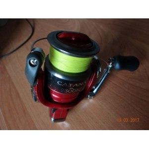 Рыболовная катушка Shimano CATANA 2500 FC фото