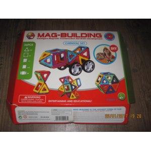 Mag Building Детский магнитный конструктор (36 деталей) фото