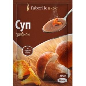 Суп моментального приготовления Faberlic грибной фото