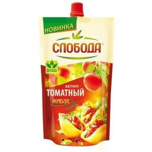 Кетчуп Слобода Томатный фото