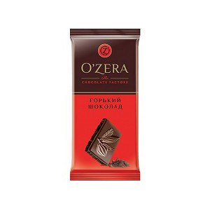 Шоколад O'zera горький фото