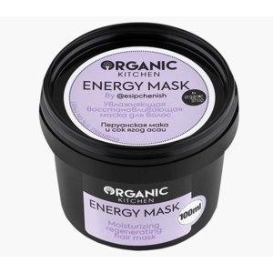 Увлажняющая восстанавливающая маска для волос Organic kitchen Energy Mask by @esipchenish фото