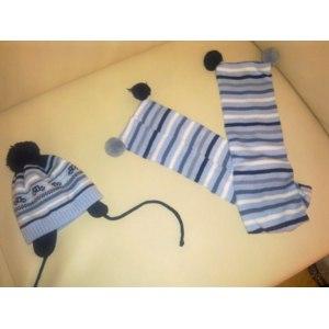 Комплект:шапка+шарф Tutu 3054w фото