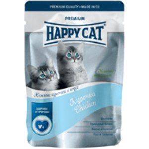 Happy cat паучи для котят фото