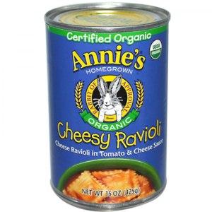 Равиоли Annie's Homegrown Organic  Cheesy Ravioli фото