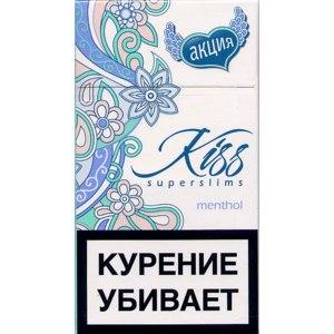 Сигареты Kiss   menthol фото
