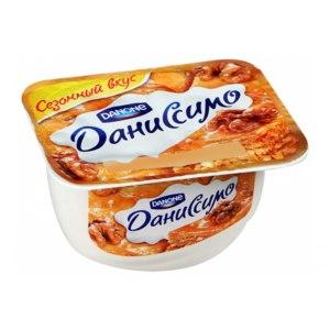 """Продукт творожный Danone С наполнителем """"Даниссимо, сезонный вкус """"Пахлава"""" с м.д.ж. 5,6% фото"""
