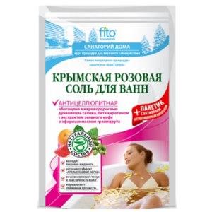 Соль для ванн ФИТОкосметик Крымская розовая антицеллюлитная фото