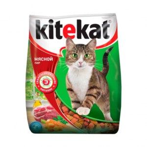 Корм для кошек Kitekat Мясной пир фото
