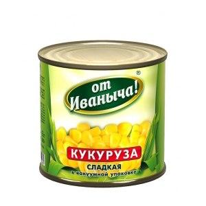 Консервированная кукуруза От Иваныча Сахарная фото