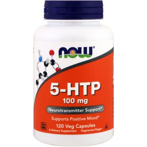 БАД Now Foods 5-HTP neurotransmitter support фото