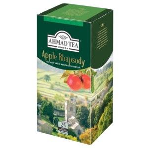 Чай в пакетиках AHMAD Apple Rhapsody c ароматом яблока и мяты фото