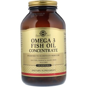 БАД Solgar Omega-3 Fish Oil Concentrate фото