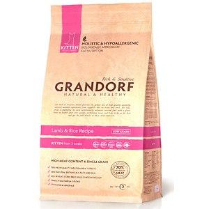 GRANDORF holistic & hypoallergenic для котят с ягненком фото