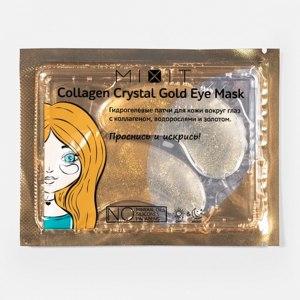 Гидрогелевые золотые патчи для глаз MIXIT Collagen Crystal Gold Eye Mask фото