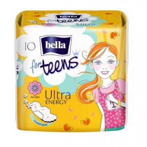 Прокладки Bella For teens Ultra Energy Active Girl фото
