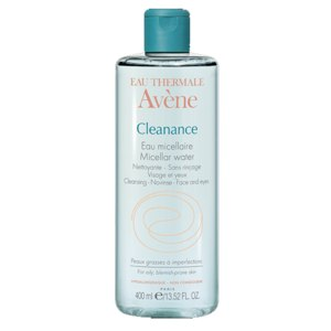 Мицеллярная вода Avene Cleanance micellar water фото