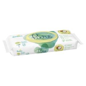 Влажные салфетки Pampers Pure Protection Coconut  фото