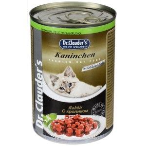 Корм для кошек Dr. Clauder's консервы с кроликом фото