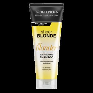 Осветляющий шампунь John Frieda Sheer Blonde Go Blonder для натуральных, мелированных и окрашенных волос фото