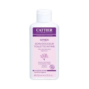Гель для интимной гигиены Cattier с экстрактом календулы и эфирным маслом герани  фото