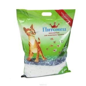 Наполнитель для кошачьего туалета Питомец  фото