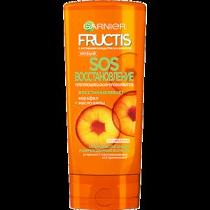 Бальзам-ополаскиватель Garnier Fructis SOS восстановление керафил+масло амлы фото