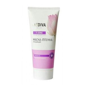 Маска-пленка для кожи лица Mediva T-zone против черных точек фото